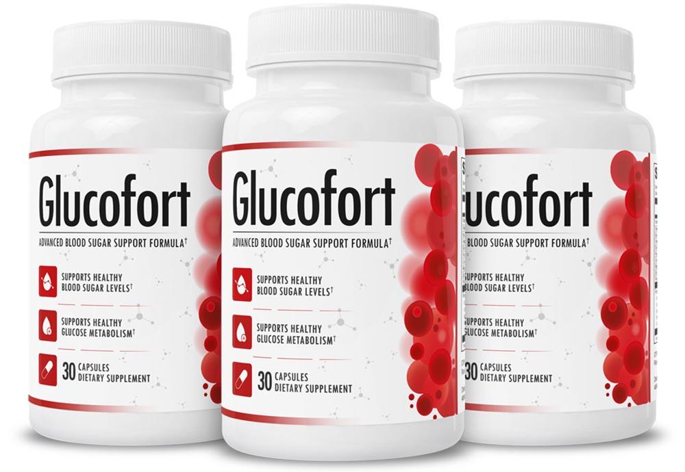 GlucoFort Advanced Blood Sugar Support Supplement