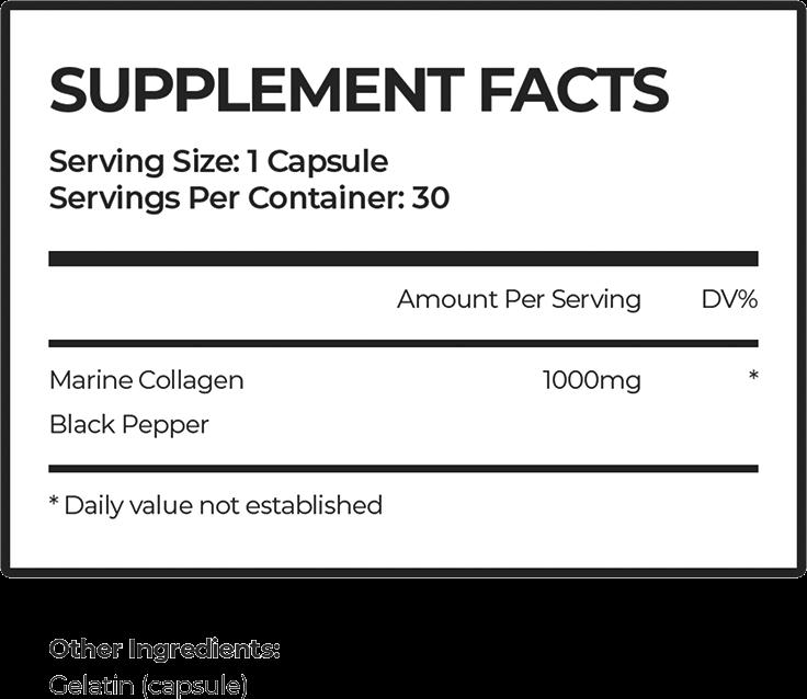 Marine Collagen Collagen Peptides Ingredients
